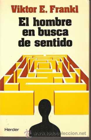 LIBRO: EL HOMBRE EN BUSCA DE SENTIDO. | SALUD