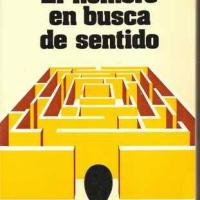 LIBRO: EL HOMBRE EN BUSCA DE SENTIDO.