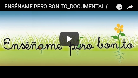 Enséñame pero bonito. DOCUMENTAL