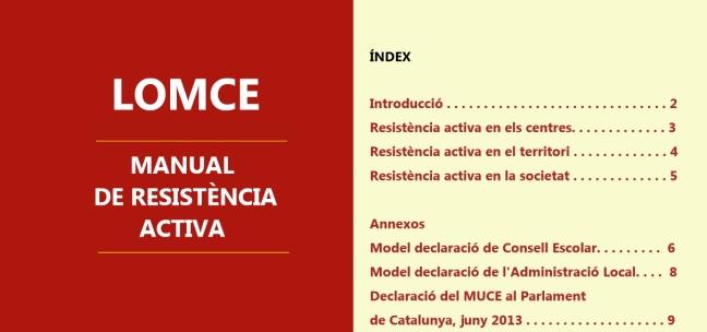 Descargar: Manual para hacer frente a la LOMCE (Federación de AMPAs de primaria y secundaria)