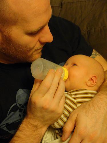 lactancia papá