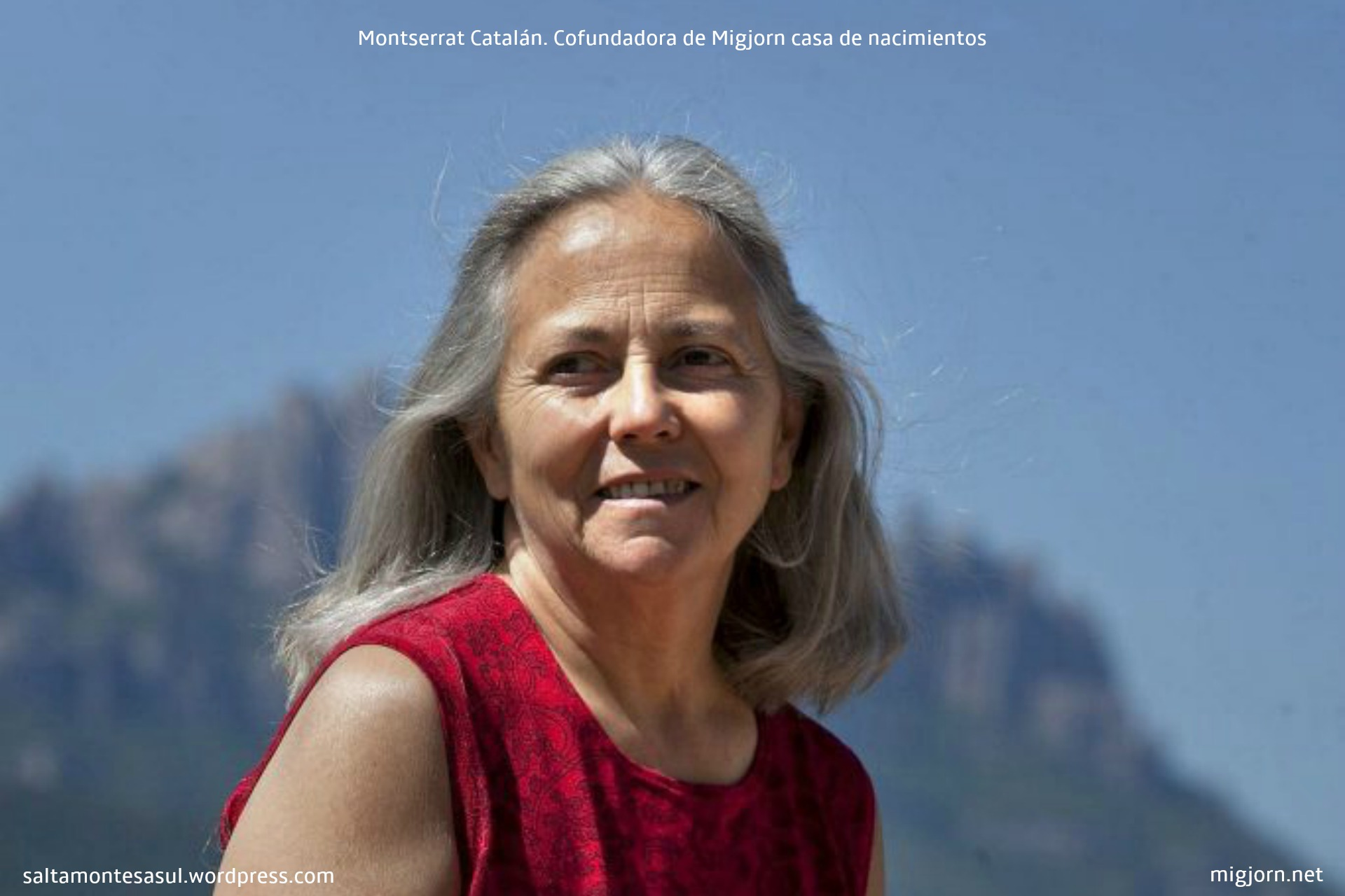Montse Catalán con criaturas