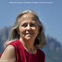 Montse Catalán con criaturas.org