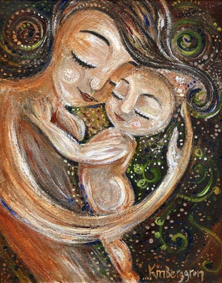 ¿Pare la madre o nace la criatura?