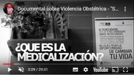 Documental violencia obstétrica